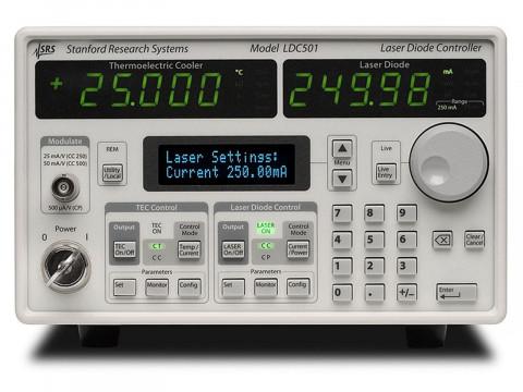 Контроллеры лазерных диодов серия LDC500