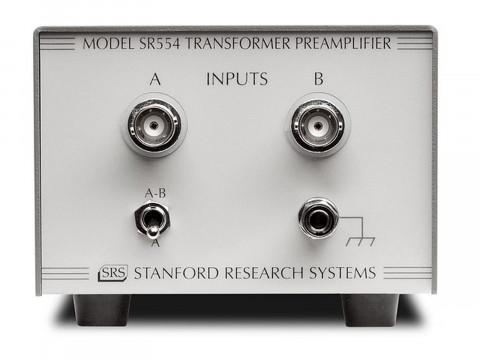 Предусилитель с трансформаторной связью SR554