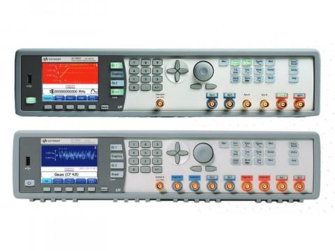 Генераторы импульсов, сигналов стандартной/произвольной формы и шума 81150A и 81160A