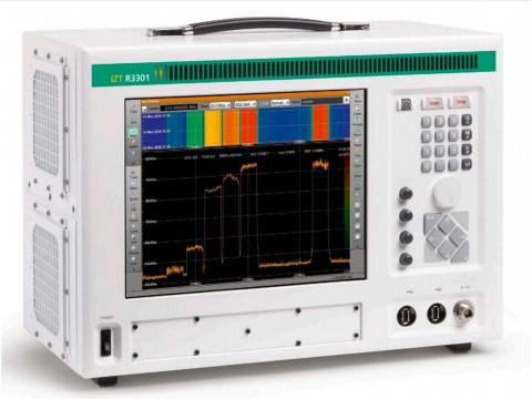Портативный приемник и радиочастотный регистратор IZT R3301