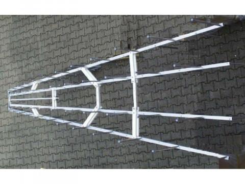 Двухуровневая логопериодическая антенна STLP 100-500