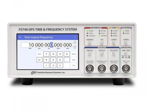 GPS-стабилизированный стандарт частоты FS740