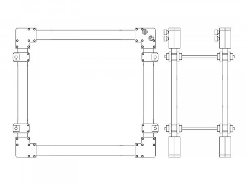 Круговые катушки Гельмгольца HHS 5212-10
