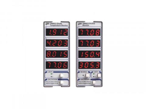 Модули для диодных и платиновых дистанционных датчиков температуры серии SIM SIM922 и SIM923