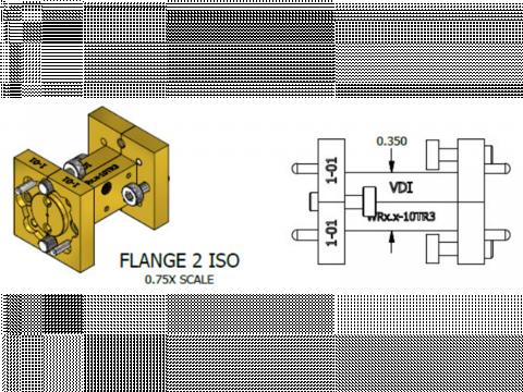 Плавные волноводные переходы WRxx-10TR3