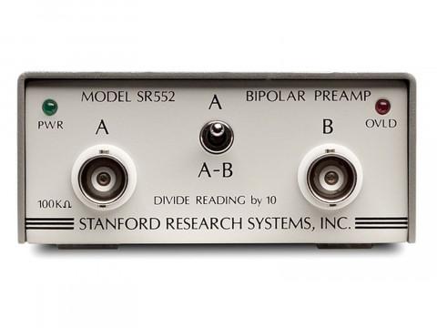 Предусилитель на основе биполярных транзисторов SR552