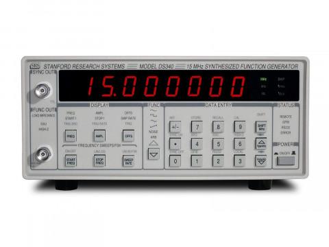 Генератор функций/сигналов произвольной формы DS340
