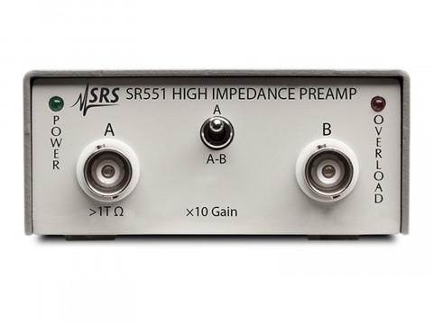 Высокоимпедансный предусилитель SR551