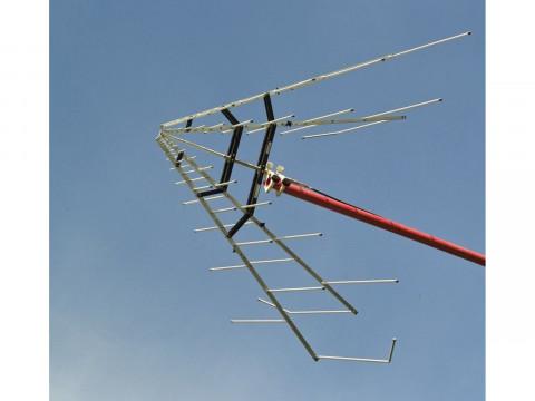 Двухуровневая широкополосная логопериодическая антенна STLP 9128 D