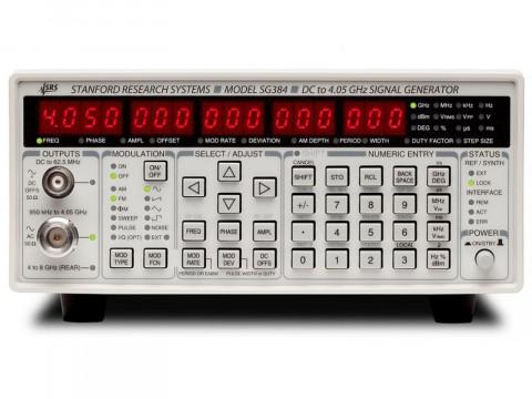 Аналоговые генераторы ВЧ сигналов SG382, SG384, SG386