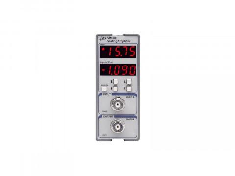 Масштабирующий усилитель серии SIM 1 МГц SIM983